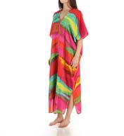 Natori Sleepwear Mirage Silky Satin Georgette Caftan Y70207