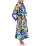 Natori Sleepwear Tahiti Silky Satin Georgette Robe Y74006