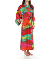 Natori Sleepwear Mirage Silky Satin Georgette Robe Y74007