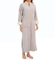 Natori Sleepwear Sherpa Frosted Micro Velour Caftan Z70049
