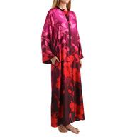 Natori Sleepwear Sophia Printed Zip Caftan Z70179