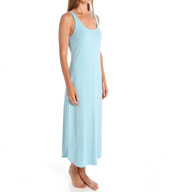 Natori Sleepwear Pima Paradise Cotton Tank Nightgown Z73153