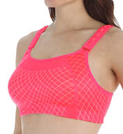 New Balance The Printed Shockingly Unshocking Sports Bra WBT5108
