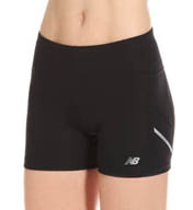 "New Balance Accelerate 4"" Fitted Short WRS4321"