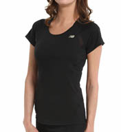 New Balance Momentum Short Sleeve Tee WRT4126
