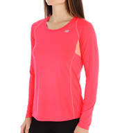 New Balance Accelerate Long Sleeve Tee WRT4327