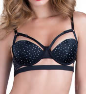 Oh La La Cheri Crystal Bandage Push Up Bra 4204RH