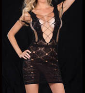 Oh La La Cheri Stocking Dress 5034