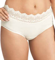 Olga Secret Hug Nylon Scoop Halfpant Panties 913