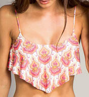 O'Neill Vindaloo Ruffle Swim Top 15474043