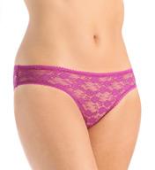 OnGossamer Stretch Lace Bikini Panty 021601