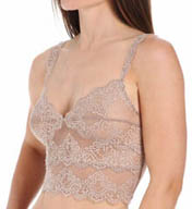 Only Hearts So Fine Lace Trim Half Camisole 43871