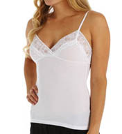 Only Hearts Feather Weight Rib Lace Trim Camisole 45053