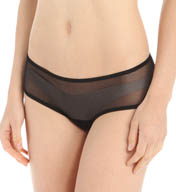 Only Hearts Italian Net Ruched Back Hipster Panty 50908