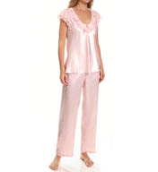 Oscar De La Renta Essentials PJ Set 681688