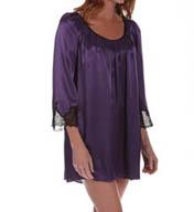 Oscar De La Renta Luster Short Gown 683852