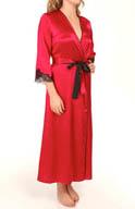 Oscar De La Renta Lavish Lace Robe 685653