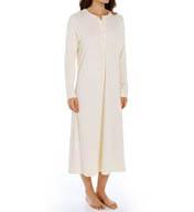 "P-Jamas 48"" Henley Long Gown 387660"