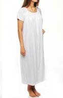 P-Jamas Heirlooms Cap Sleeve Gown Consuelo