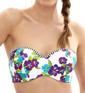 Panache Elle Padded Bandeau Bikini Swim Top SW0873