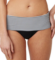 Panache Anya Stripe Folded Swim Bottom SW0897