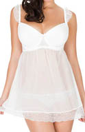 Parfait by Affinitas Honey Molded Underwire Babydoll 5808