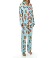 PJ Salvage Holiday Gingerbread PJ Set HHOLPJ1