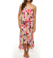 PJ Salvage Ideal Ikat Dress LIDED
