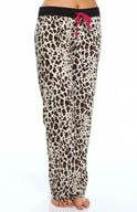 PJ Salvage Pop of Pink Leopard Print Pajama Pant MPOPP2
