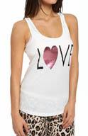 PJ Salvage Giftables Love Foil Letter Tank NGIFTK3