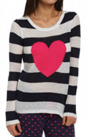 PJ Salvage Queen of Hearts Heart Sweater NQUELS1
