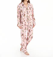 PJ Salvage Fall Into Flannel Cowgirl Up PJ Set RCOWPJ
