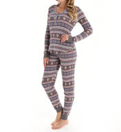 PJ Salvage Chambray Owl Ski Set RHCASET