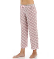 PJ Salvage Pink Touch Crop Pant TPINCP