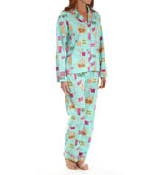 PJ Salvage Playful Prints PJ Set TPLAPJ4