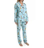 PJ Salvage Fall into Flannel Dog Pajama Set VDOGPJ
