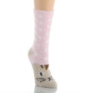 PJ Salvage Fun Plush Cat Socks VFUNSO1