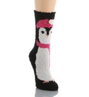 PJ Salvage Fun Plush Penguin Socks VFUNSO4