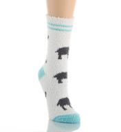 PJ Salvage Fun Plush Elephant Socks VFUNSO8