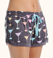 PJ Salvage Fall Into Flannel Martini Short VMARS