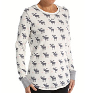 PJ Salvage Moose Long Sleeve Top VMOOLS2