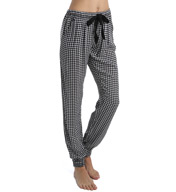 PJ Salvage Luxe Petal Paisley Houndstooth Pant VPPSP
