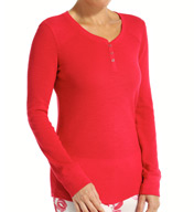 PJ Salvage Slub Basic Long Sleeve Top VSLBLS