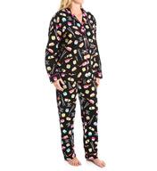 PJ Salvage Fall into Flannel Sushi Pajama Set VSUSPJ