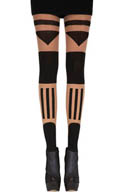 Pretty Polly Patternity Tower Block Tights JPARL2