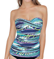 Profile by Gottex Road Trip Twisted Bandini Swim Top 5051B12