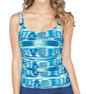 Profile by Gottex Oceana Tankini Swim Top 5101B33
