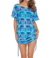 Profile by Gottex Oceana Mesh Tunic Cover Up 5103061