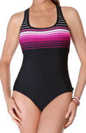Reebok Swimsta Racerback One Piece Swimsuit 864576