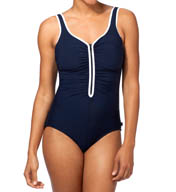 Reebok Zig Zag One Piece Swimsuit 871374